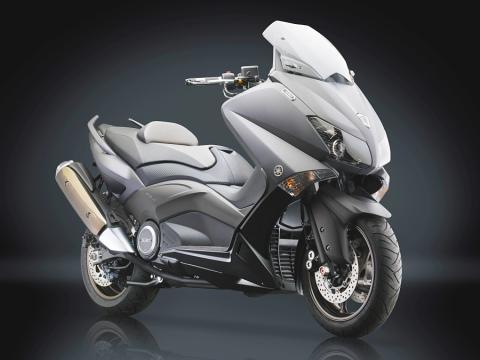 Yamaha T-Max 500 Rizoma perfíl.