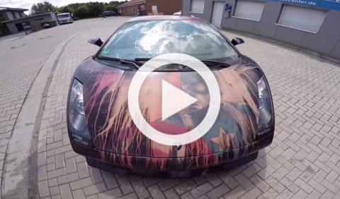 Otro Lamborghini Gallardo que es mejor no mirar
