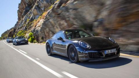 Porsche 911 facelift 2016 dinamica