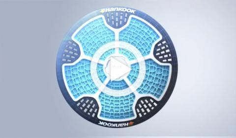 Llega el neumático sin aire: Hankook iFlex