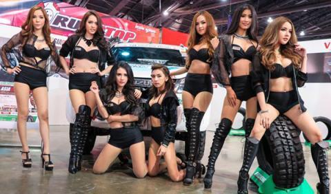 chicas salon de Bangkok 2015