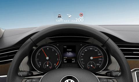 Las 8 claves del nuevo head-up display del VW Passat