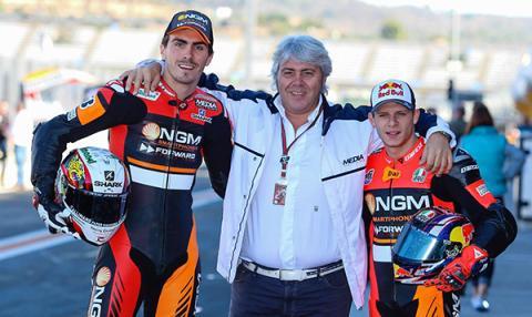 MotoGP 2015: El Forward Racing se queda fuera del Mundial