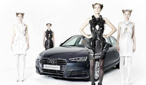 Vestidos inspirados en el nuevos Audi A4 sedán