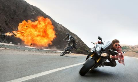 Tom Cruise, las motos y Misión Imposible 5. En BMW S1000RR
