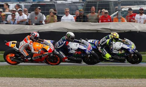Los horarios de MotoGP, Indianapolis 2015