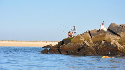Ilha do Farol, en el Algarve.