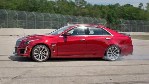 Prueba: Cadillac CTS-V