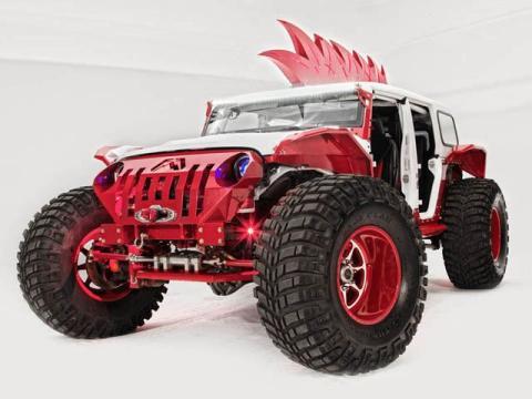Jeep Wrangler salvaje fab fours