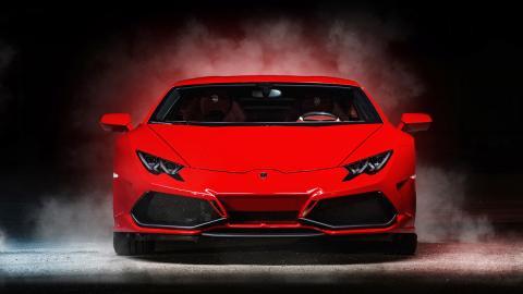 Lamborghini Huracan Ares Design frontal