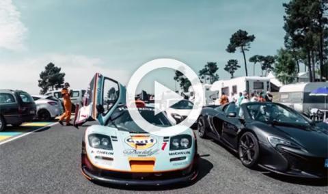 Vídeo: los McLaren F1 GTR y P1 GTR toman Le Mans