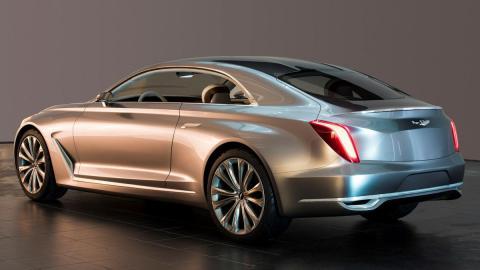 Hyundai Vision G Concept Coupe trasera