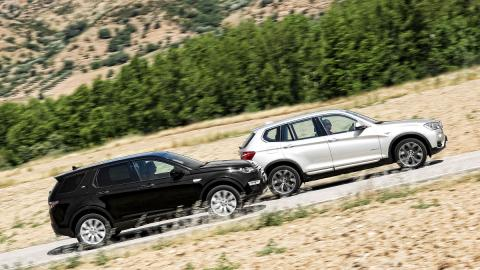 comparativa bmw x3 land rover discovery sport