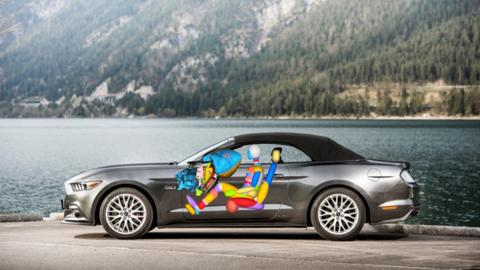 airbag guantera nuevo Mustang