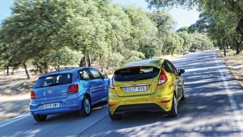 Comparativa Ford Fiesta Volkswagen Polo