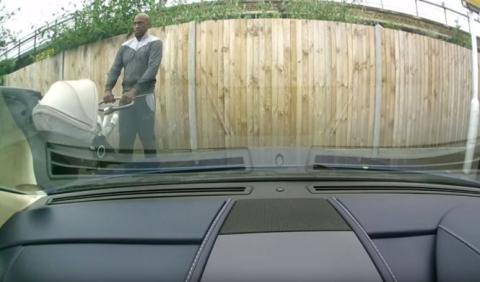 El hombre que arañó un Aston Martin, arrestado