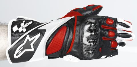 Guantes de moto para circuito y conducción deportiva.