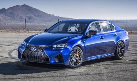 Lexus GS F 'Track Performance': puro espectáculo