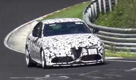 Vídeo: Alfa Romeo Giulia QV, ¡a fondo por Nürburgring!