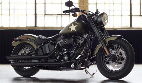 Más madera para la Harley-Davidson Softail Slim S 2016