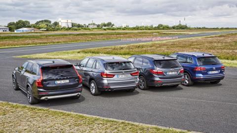 Comparativa Volvo XC90 contra rivales