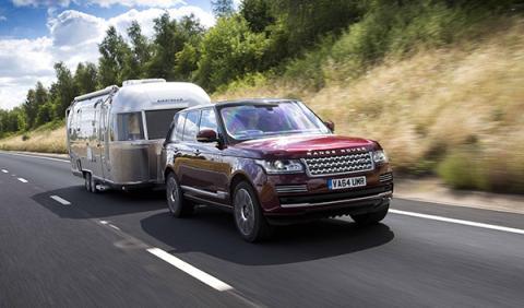 Sistema remolque invisible Land Rover Cargo Sense