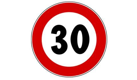 Valencia limitará el tráfico en el centro a 30 km/h