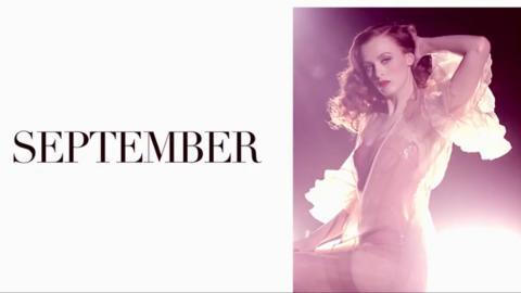 Karen Elson calendario pirelli septiembre