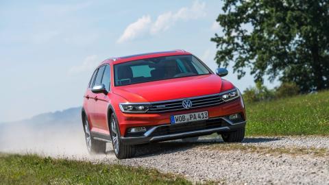 Delantera Volkswagen Passat Alltrack 2015