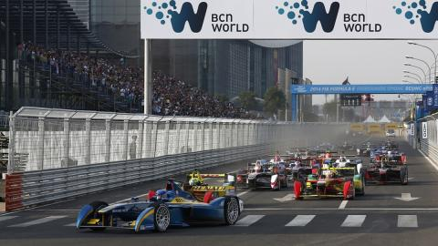 La segunda temporada de Fórmula E empezará el 24 de octubre