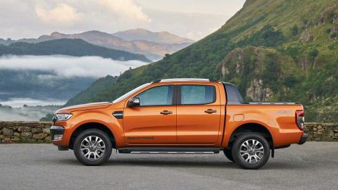 Ford Ranger para Europa lateral