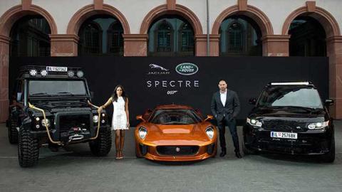 Coches Jaguar Land Rover James Bond Spectre