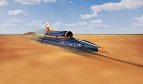 Bloodhound SSC: 365 km/h más rápido que el sonido
