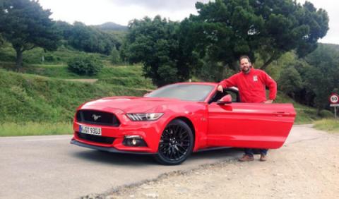 Rodrigo Fersainz Ford Mustang GT 2015
