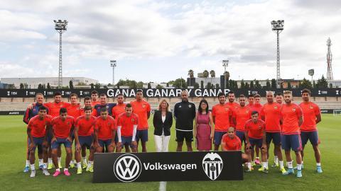 Volkswagen coche oficial Valencia CF