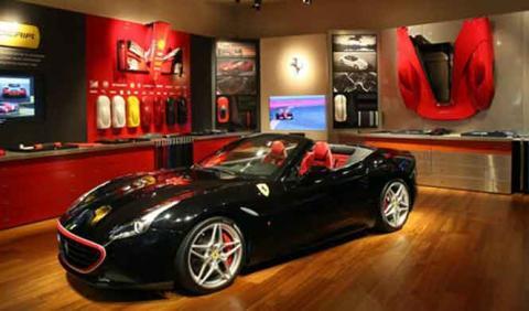 35 Ferrari expulsados de un casino