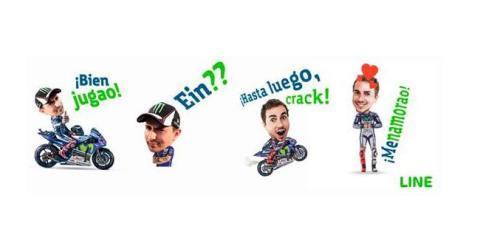 Jorge Lorenzo se convierte en un emoticono