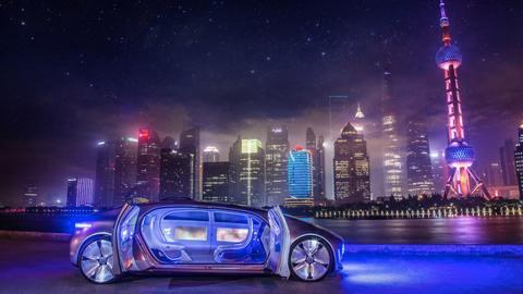 Limusinas que conducen solas: ¿nuevo negocio de Mercedes?