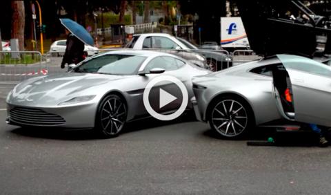 Vídeo: nuevas imágenes del Aston Martin DB10 de James Bond
