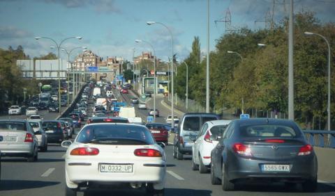 Empiezan los cortes de tráfico de Carmena en Madrid