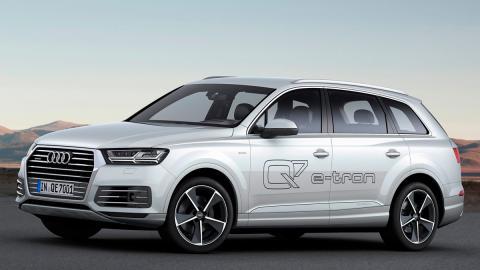 Audi Q7 e-tron 3.0 TDI delantera