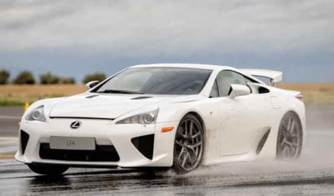 El sucesor del Lexus LFA