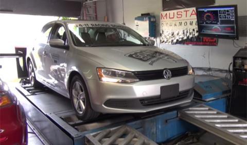 ¿Cuánta potencia pierden los motores VW con el dispositivo?