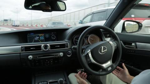 Lexus GS conduccion autonoma sin manos