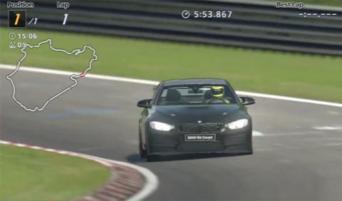 BMW M4 GTS Nürburgring Grant Turismo 6