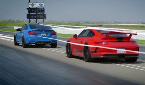 El arte de adelantar, explicado en vídeo con un M4 y un GT3