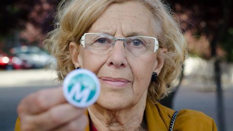 Carmena castiga a las motos en Madrid por la contaminación