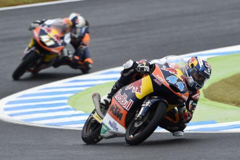 Libres Moto3 Phillip Island 2015: Oliveira domina