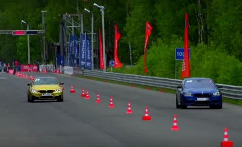 'Drag race' entre hermanos: BMW M5 vs BMW M4