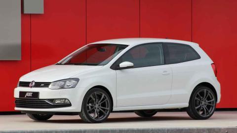 VW Polo by ABT tres cuartos delanteros